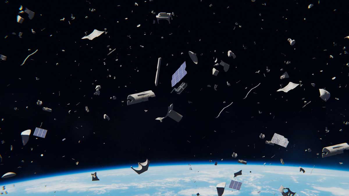 Over 20,000 pieces of orbiting trash