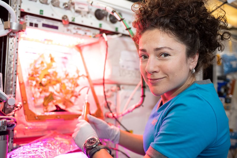 SPACE CHANNEL EXCLUSIVE: NASA Astronaut Jessica Meir