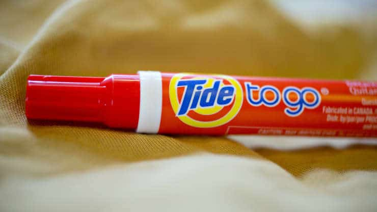 tide partners with nasa