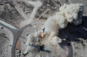 Blue Origin set for Tuesday launch from Texas with Jeff Bezos on board