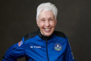 What Wally Funk's space career can teach us