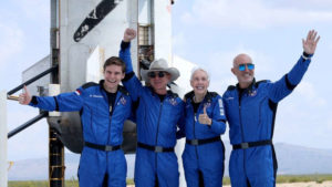 Why Bezos's space flight really matters