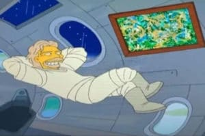 'The Simpsons' credited with Richard Branson space flight prediction