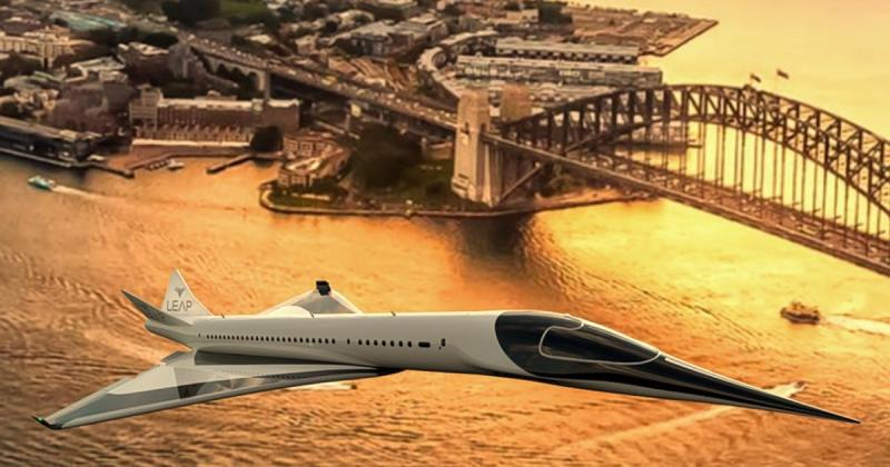 Leap Aerospace and the magical supersonic VTOL zero-carbon airliner