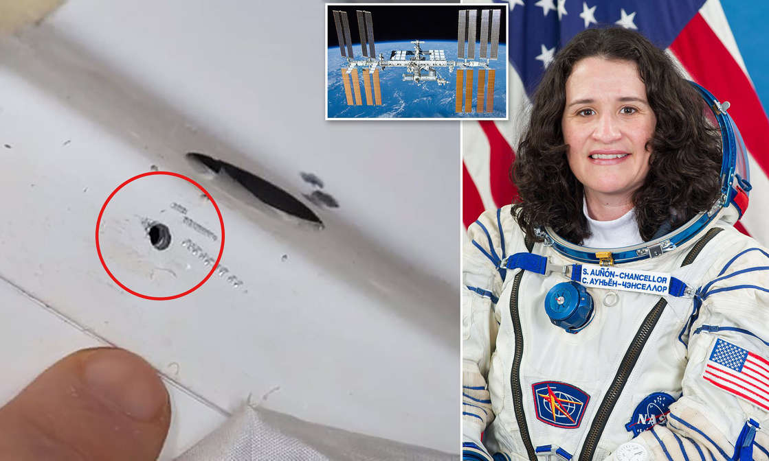 NASA slams Russian claims US astronaut drilled a hole in the ISS