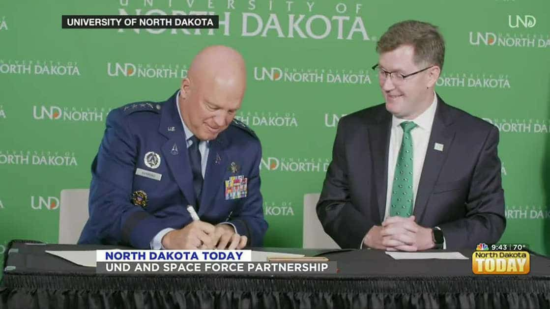NDT - UND and Space Force Partnership