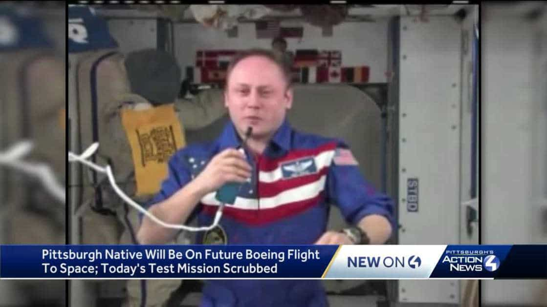 Pittsburgh astronaut to visit the International Space Station