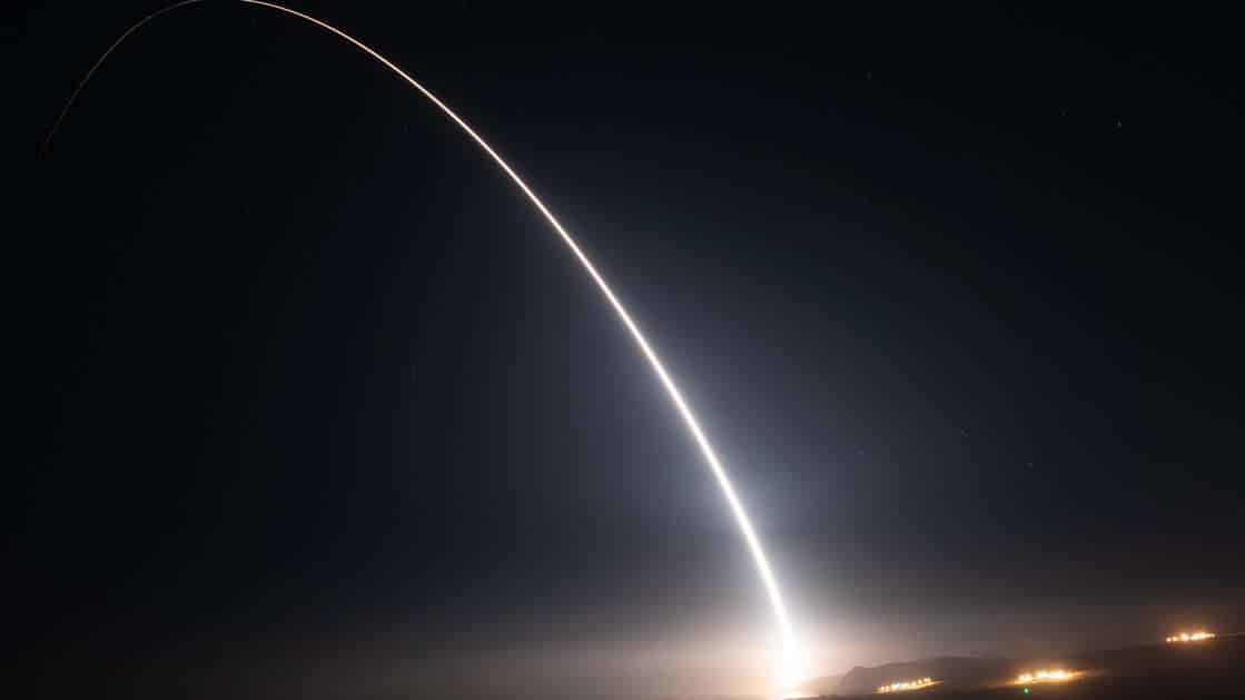 Unarmed Minuteman Missile Successfully Launches From Vandenberg Space Force Base