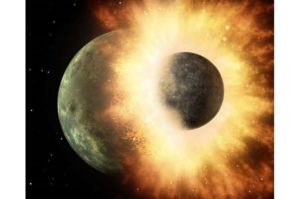 Earth and Venus grew up as rambunctious planets