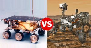 How NASA's new Perseverance Mars rover compares with its '90s ancestor