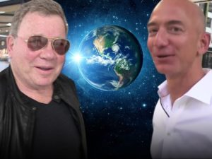 WILLIAM SHATNER: Beam Me Up, Jeffy ... GOING INTO SPACE WITH BLUE ORIGIN!!!