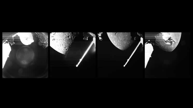 BepiColombo Captures First Mercury Photos During Late Night Flyby