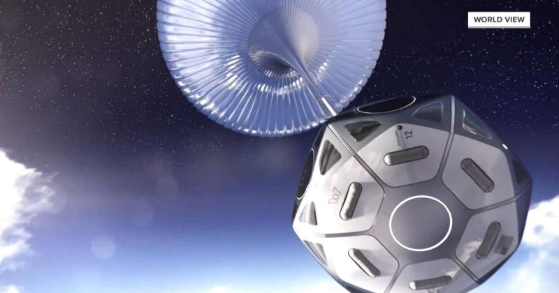 Company plans to take passengers to edge of space in a balloon