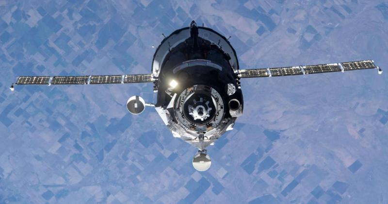 A Russian spacecraft pushed the space station out of position and sent astronauts into emergency mode - again
