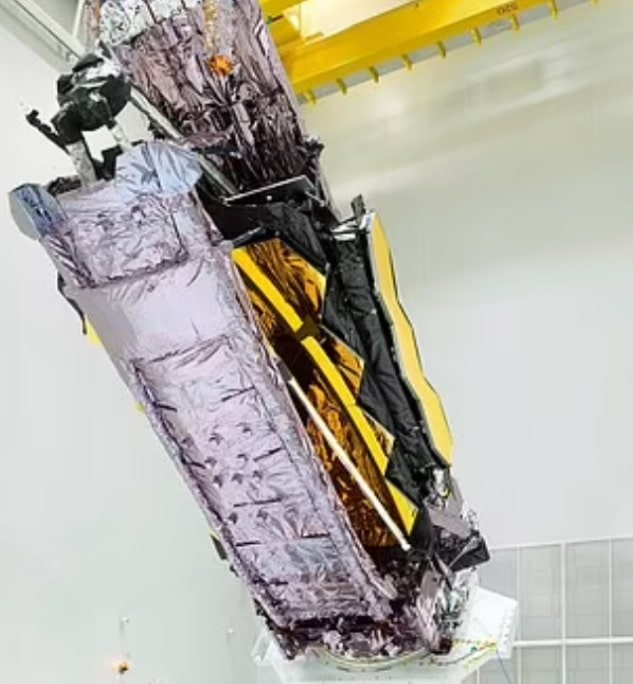 NASA unpacks its successor to Hubble: $10 BILLION James Webb Space Telescope will launch 930,000 miles into space this December where it will peer deeper into the cosmos than ever before