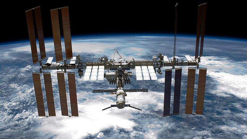 Aging space station will be a 'full house' later this month