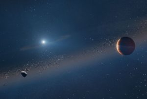 Astronomers observe a distant solar system that looks a lot like ours will after the sun explodes